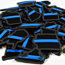 State Flag Velcro Patches Every State In Thin Blue Line