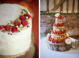 decorate your wedding cake with berries weddbook