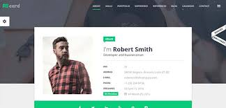 Best Personal Resume Websites by 20 Best Personal Cv Resume Html Templates Creativecrunk