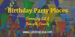 birthday party places birthday party places in ga forsyth county