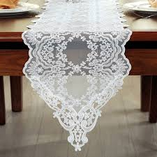 gold lace table runner embroidered lace table runner tv bench stand end table cover