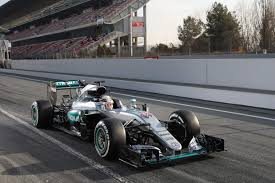 mercedes barcelona mercedes drivers complete day 4 runs at barcelona testing