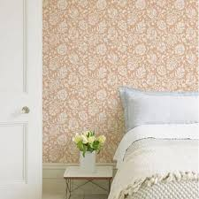 Floral Wall Stencils For Bedrooms 74 Best Wallpaper Images On Pinterest Floral Wallpapers Wall