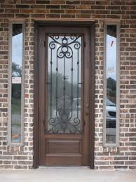glass outside doors double wood and glass front doors safe and beautiful wood and