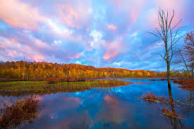 Ohio scenery images Killbuck marsh sunrise beautiful ohio fall scenery photography jpg