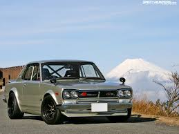 stanced nissan skyline japan jdm japanese domestic market mount fuji nissan skyline gt r