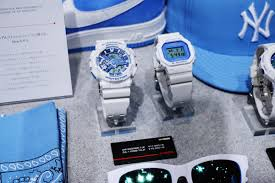 light blue g shock watch g shock white and blue summer sky series g central g shock watch
