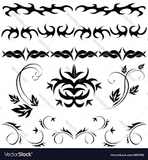 patterns and ornaments royalty free vector image