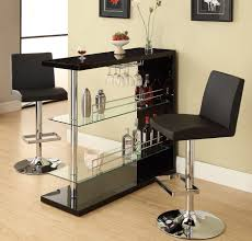 small bar tables home black bar table set dining