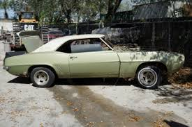 69 camaro project for sale 1969 chevrolet camaro hardtop 2 door rs project car for sale in
