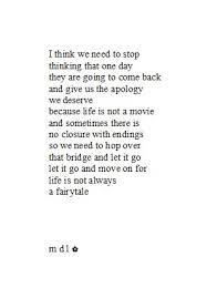 breaking up and moving on quotes for the past 3 days i