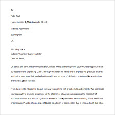 Example Of Thanksgiving Speech Thank You Letter Format Example Well Thanks You Letter After