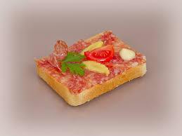 canap toast salami canapé jetzt bei tschirky bestellen