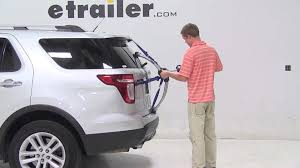 cheap ford explorer review of the thule archway trunk mount bike rack on a 2013 ford