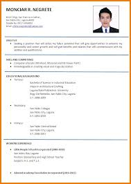 how to make cv for job in english free professional resumes