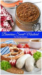 gourmet mustard traditional bavarian sweet mustard bayerischer süßer senf the
