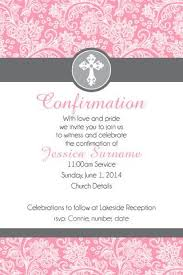 confirmation invitations confirmation invitations templates n conf pink righteous 2 d 904 feb