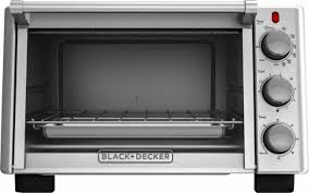 Oven And Toaster Black U0026 Decker 6 Slice Toaster Oven Silver To2050s Best Buy