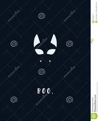halloween cat symbol using negative space silhouette animal