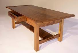Walnut Coffee Table Portfolio Walnut Coffee Table Offerman Woodshop