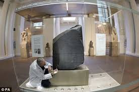 rosetta stone black friday indiana jones u0027 of egyptian archaeology demands british museum hand