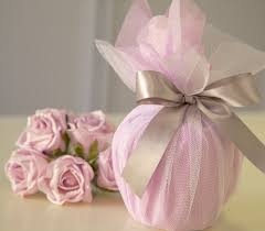 How To Wrap Wedding Gifts - wrapping a wedding gift and making it stand out on the present