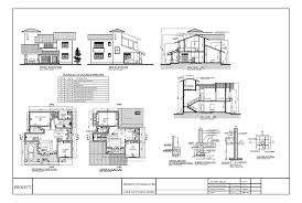 home design dwg download premium quality four bedroom double story house plan