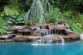 Backyard Waterfall Ideas Waterfall Landscaping Ideas Pictures Design Ideas U0026 Decors
