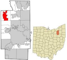 Ohio Time Zone Map by Richfield Ohio Wikipedia