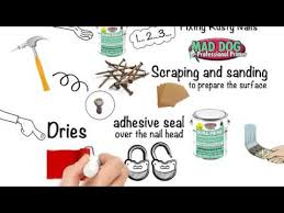 stop rusty nails from bleeding through paint with dura prime youtube