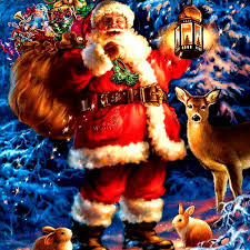 online shop full father christmas 5d diy diamond painting