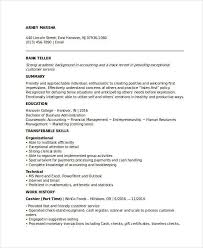 Entry Level Investment Banking Resume Banking Resume Samples 45 Free Word Pdf Documents Download