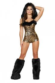 women costume 1 pc lovely leopard costume amiclubwear costume online store