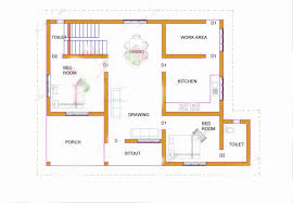 Home Design 900 Square 900 Square Feet 2 Attached Bedroom Low Budget Home Design And Plan