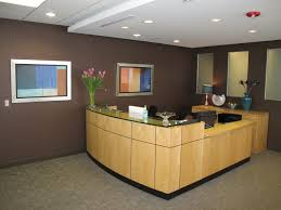 peaceful design front office desk creative ideas front office