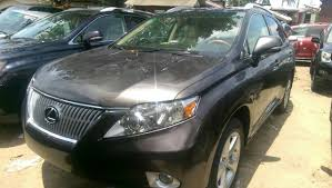 bronze lexus bronze toks 2011 lexus rx350 premium 6 3 million autos nigeria