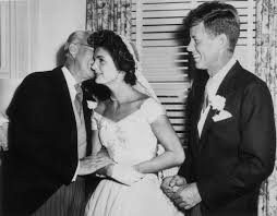 26 candid photographs from the wedding of john f kennedy and