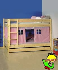Bunk Bed With Tent At The Bottom Bunkbeds With Bottom Bunk Tent Bunk Beds Bunk Beds Thuka