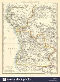 Africa Colonial Map by Colonial Central Africa French Congo Free State Portuguese West
