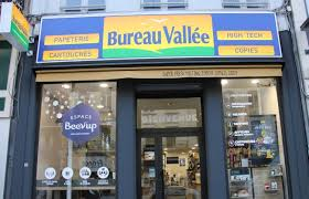 logo bureau vallee exec briefing bureau vallée launches retail concept opi