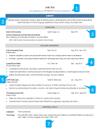 Example Of A Resume For A College Student by Collegiate Association For The Research Of Principles How To