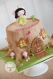 Halloween Fairy Cakes Decoration by Top 25 Best Fairy House Cake Ideas On Pinterest Mushroom