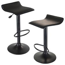 24 inch backless bar stools spacious winsome wood 20239 obsidian airlift stool swivel backless