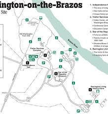 Washington State Parks Map by Washington On The Brazos State Park Maplets