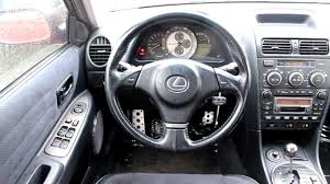 lexus hatchback is300 2003 lexus is300 sedan red stock l066036 interior youtube