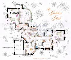 Garage Floorplans by Floor Golden Girls Floor Plan Hjxcsc Com