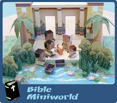 my little house bible miniworld preview