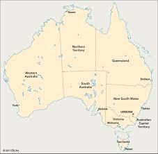 states australia map australian states and territories students britannica