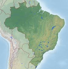 Free World Maps by Brazil Physical Map