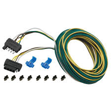 amazon com 5 way wishbone trailer wiring kit 25 u0027 automotive